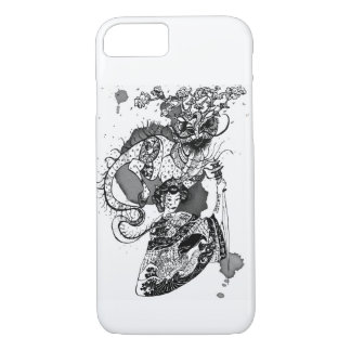 Geisha samurai iPhone 8/7 case