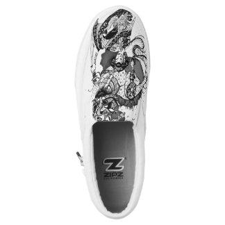 Geisha samurai Slip-On sneakers