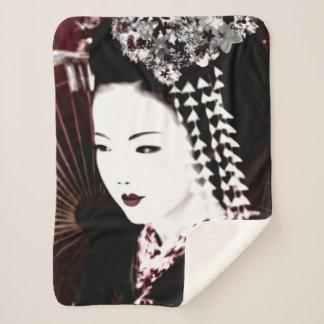 Geisha Sherpa Blanket