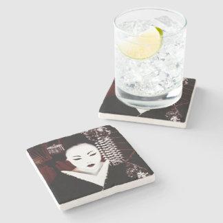 Geisha Stone Coaster