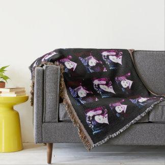 Geisha Throw Blanket
