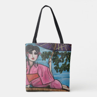 Geisha Tote Bag  (Customizable)