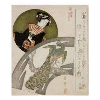 Geisha Vintage Japanese Print