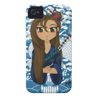 Geisha warrior print iPhone 4 Case-Mate case