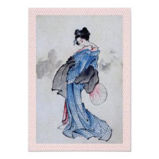 Geisha Wedding Invite