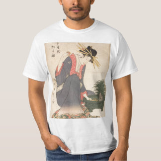 Geisha with Toy Boat T-Shirt