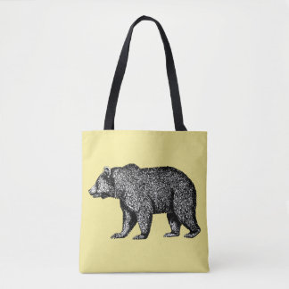 Geizzly Bear Tote Bag