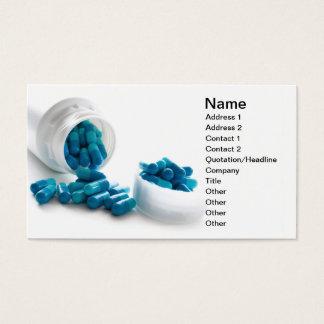 Gel capsule business card