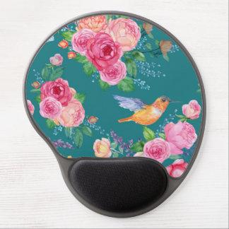 Gel Mousepad - Birds, Flowers and Butterflies