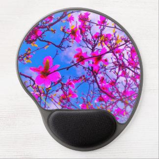 Gel Mousepad, Color Enhanced Magnolia Tree Photo Gel Mouse Pad