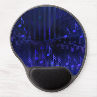 Gel Mousepad with Blue Digital Art - Concert Hall