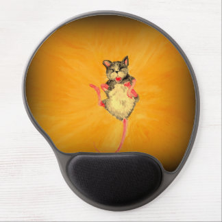 Gel Mousepad with laughing Mouse
