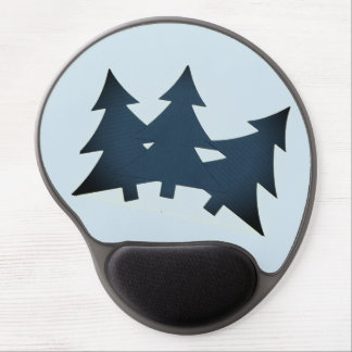 Gel Mousepad with Pine Trees