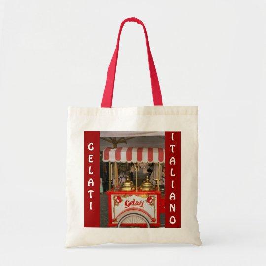 Gelati, Italian Ice Cream Tote Bag