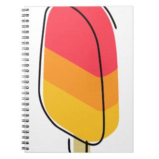 Gelato Ice Cream Notebooks