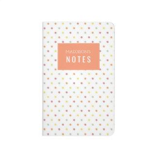 Gelato Polkadot Personalised Notebook Journal