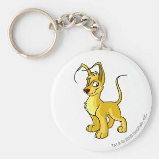 Gelert Yellow Keychain