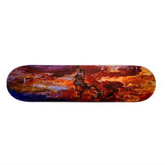 Gelezenis Vilkas Iron Wolf Fire Slate Boards Skate Board Decks