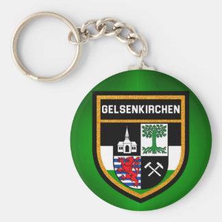 Gelsenkirchen Flag Keychain