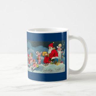"""Gelukkig Kerstfeest"" Vintage Dutch Christmas Mug"