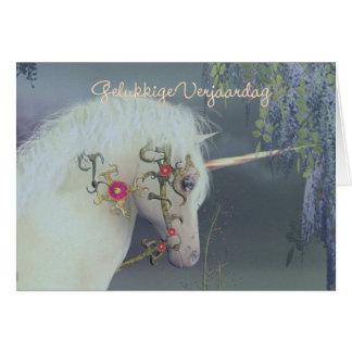 Gelukkige Verjaardag - Flemish - Dutch Birthday Card