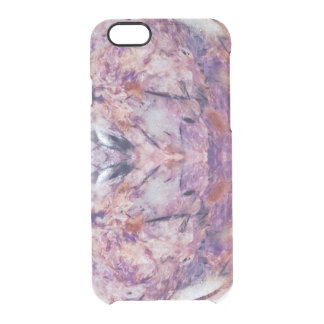 gem background clear iPhone 6/6S case
