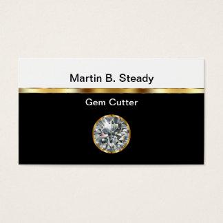 Gem Cutter Business Cards