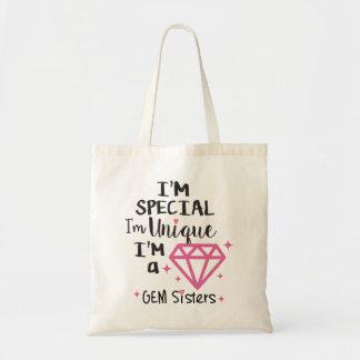 GEM Sisters - I'm a GEM tote bag
