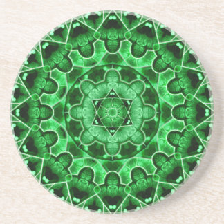 Gem Star Mandala Coaster