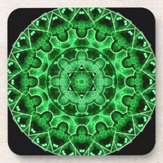 Gem Star Mandala Coaster