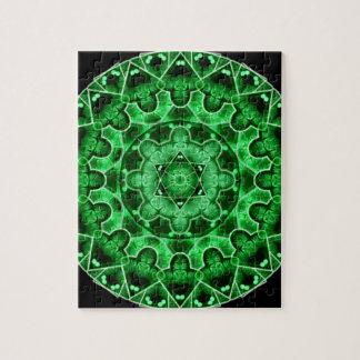 Gem Star Mandala Jigsaw Puzzle