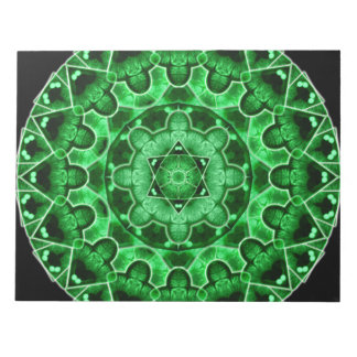 Gem Star Mandala Notepad