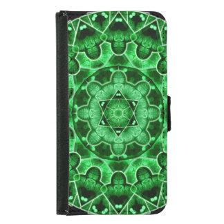 Gem Star Mandala Samsung Galaxy S5 Wallet Case