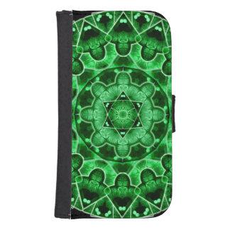 Gem Star Mandala Samsung S4 Wallet Case