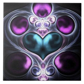 Gem Stone Heart Tile