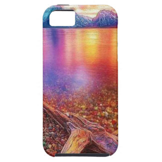 Gem Stone Lake iPhone 5 Cover
