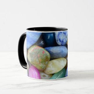 gem stones pattern texture rock nature mug