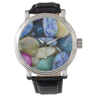 gem stones pattern texture rock nature watch