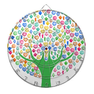 Gem tree dartboard