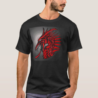 GemCrest Dragon T:  Ruby T-Shirt