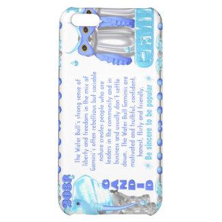 Gémeaux de taureau de l'eau de zodiaque de ValxArt Étui iPhone 5C