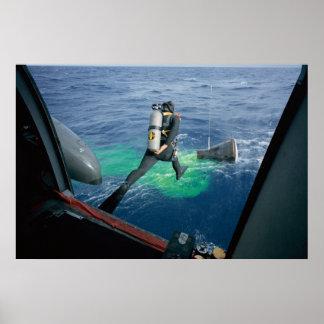 Gemini 12 Splashdown & Recovery Poster