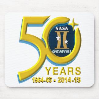 Gemini 50th Anniversary Logo Mouse Pad