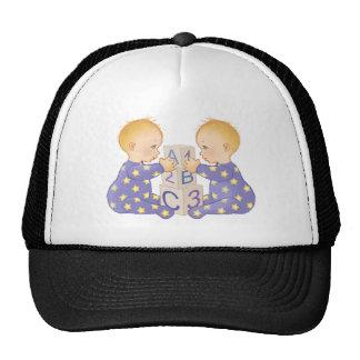 Gemini AstrologyBabies - light skin Trucker Hat