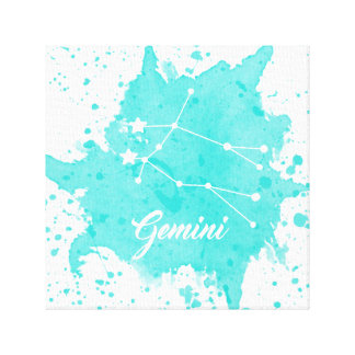 Gemini Blue Wall Art