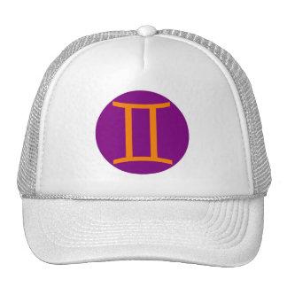 Gemini cap trucker hat