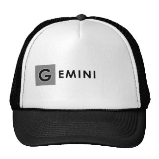 GEMINI COLOR TRUCKER HAT
