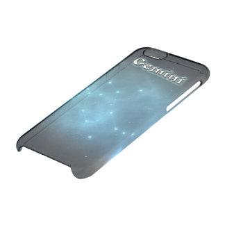 Gemini constellation clear iPhone 6/6S case