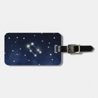 Gemini Constellation | Custom Name & Address Luggage Tag