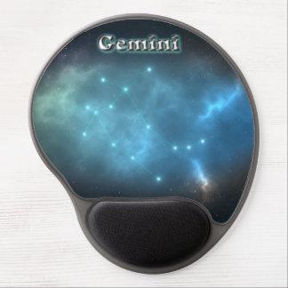 Gemini constellation gel mouse pad